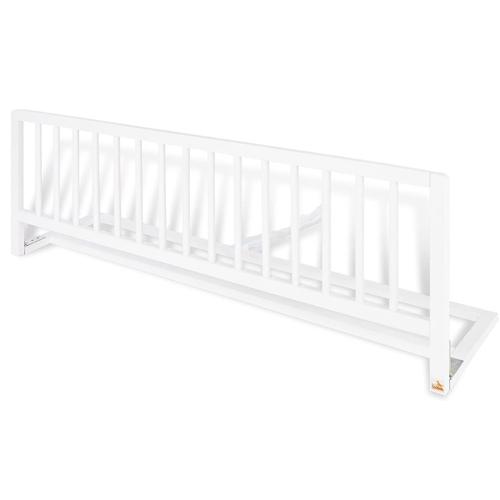 barrera para cama de niños de madera blanco lacado
