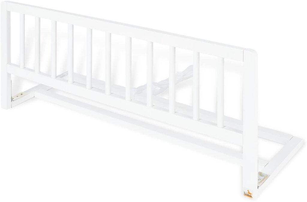 Barrera de 90 cm hecha en madera para cama de bebe