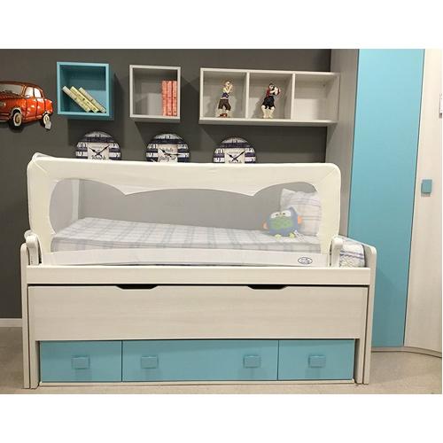 barandilla para cama de niños compatible con camas nido