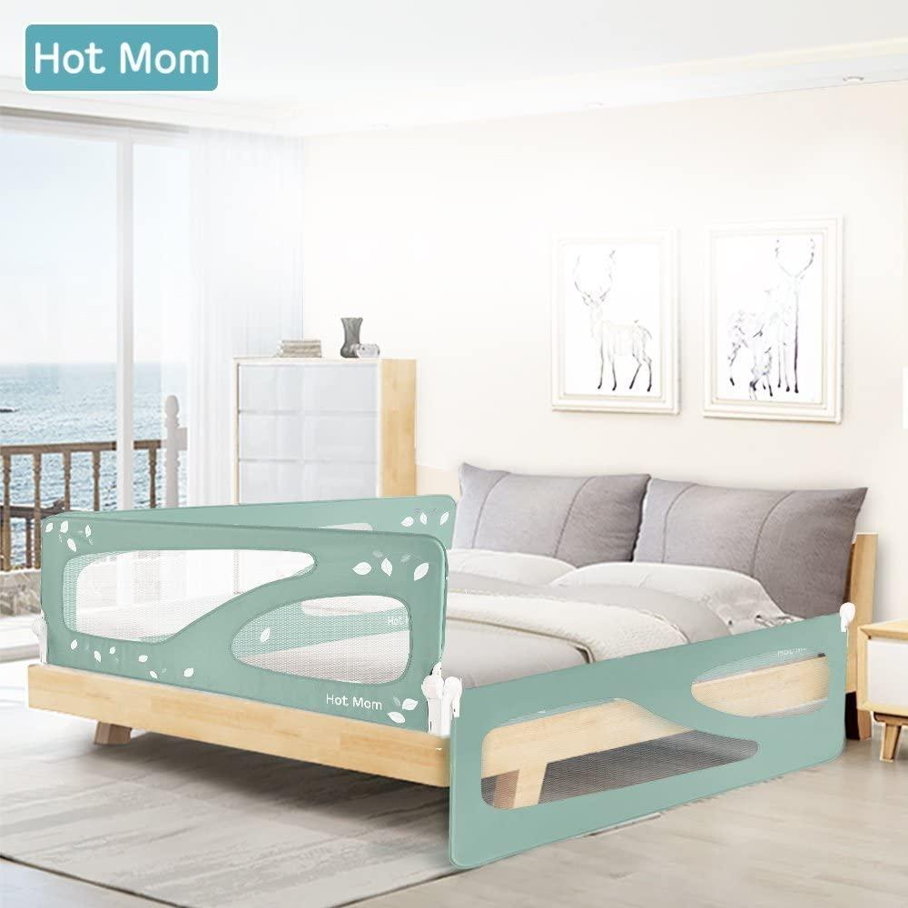 barandilla para cama de niño de 150 cm abatible