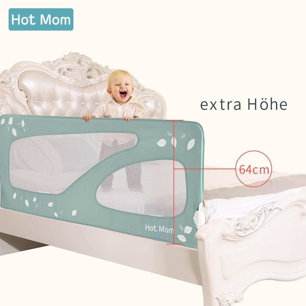 barrera alta para cama de bebe