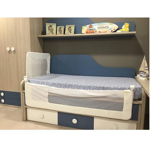barandilla de cama nido que puedes poner en la zona de los pies o cabecero de la cama