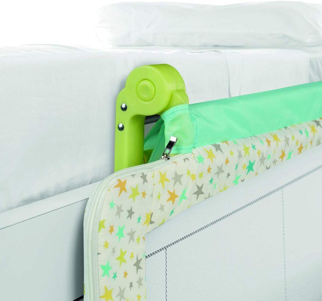 barrera jane abatible para camas de niños y bebes