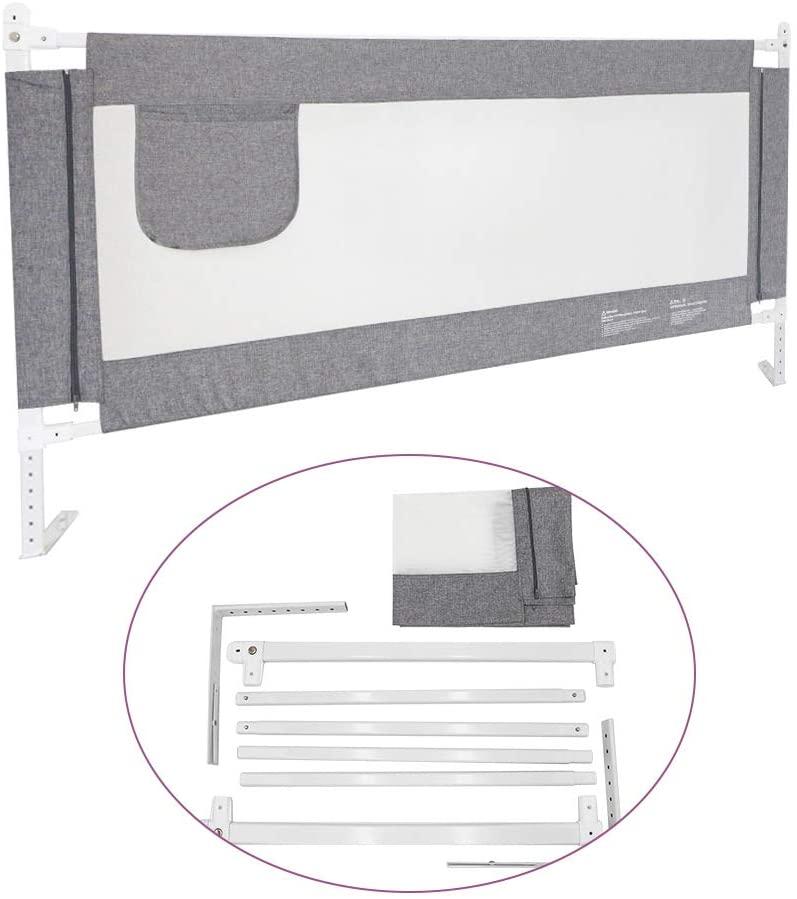 protector para cama de bebe de 150 por 76 cm