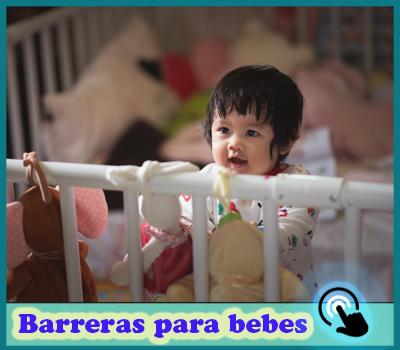 mejores barreras para camas de bebes