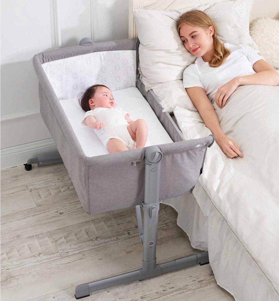 como dormir con el bebe recien nacido por primera vez